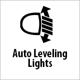 Auto leveling headlights