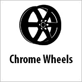 Chrome wheels