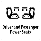 Ico driver and passenger power seats