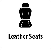 Leather seats