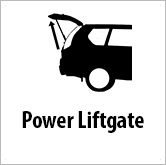 Power lift gate