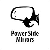 Power side mirrors